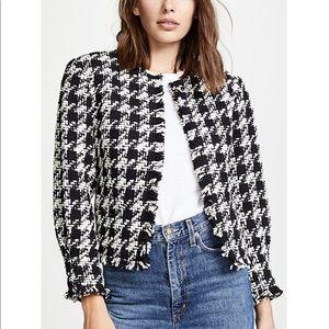NWT Joie Awel Caviar twill jacket blazer